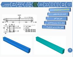پاو وینت بررسی مدل های ارائه شده برای منحنی تنش-کرنش درظرفیت باربری و شکل پذیری سازه های بتن آرمه به روش اجزای محدود