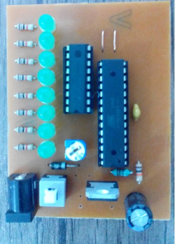 دانلود فایل برنامه نویسی AVR و شبیه سازی و PCB ساخت فلشر 8 کانال با قابلیت تغییر افکت و تنظیم سرعت